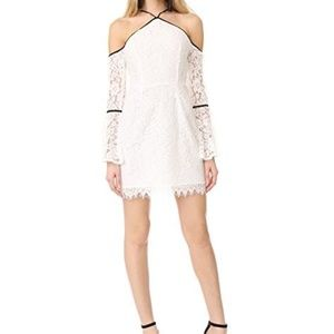 NWT Cold Shoulder Bell Sleeve Lace Dress Size S/M
